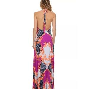 S-Twelve Dresses - New S Twelve front slit super soft maxi dress